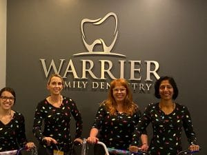 warrier dentistry toy drive